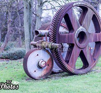 industry gear & industrie symbol