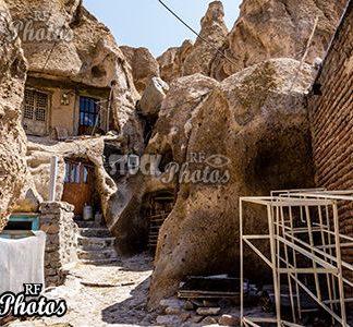 historical village kandovan in iran
