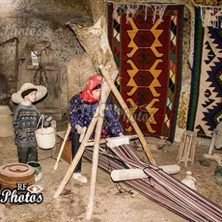 traditional hand-knotted carpets in Iran Kandovan